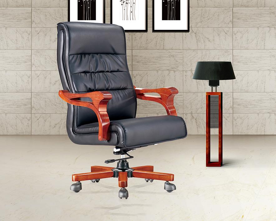 牛皮大班椅HZBY-XP001