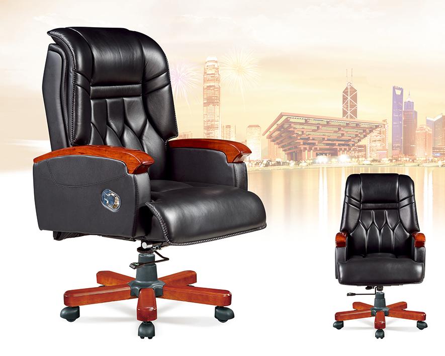 牛皮大班椅HZBY-XP003