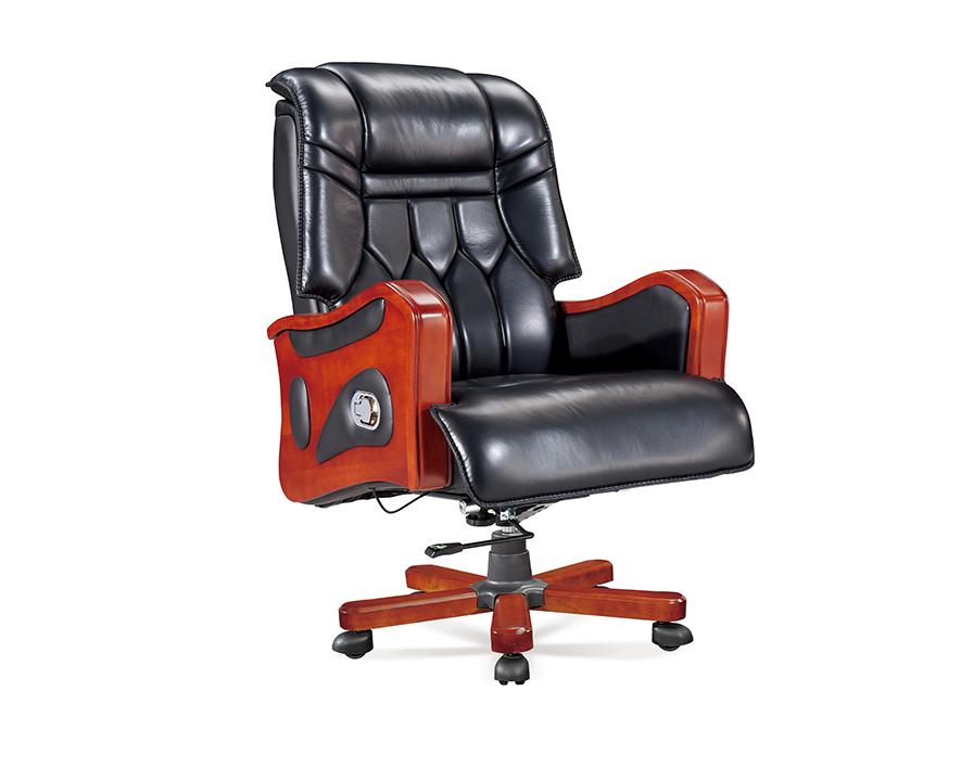 牛皮大班椅HZBY-XP005