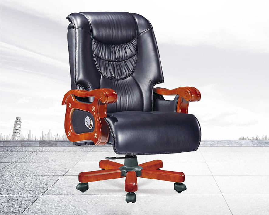 牛皮大班椅HZBY-XP007