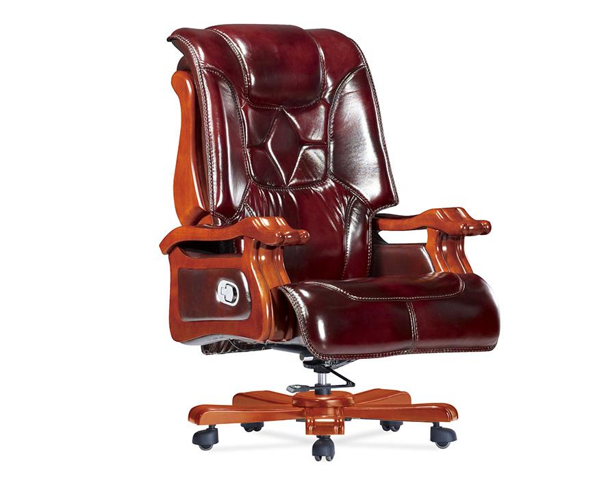 牛皮大班椅HZBY-XP008