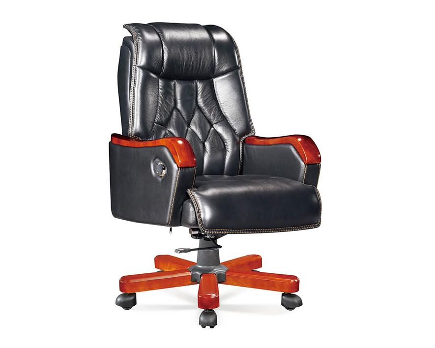 牛皮大班椅HZBY-XP010