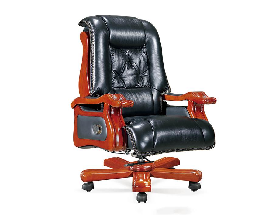 牛皮大班椅HZBY-XP011