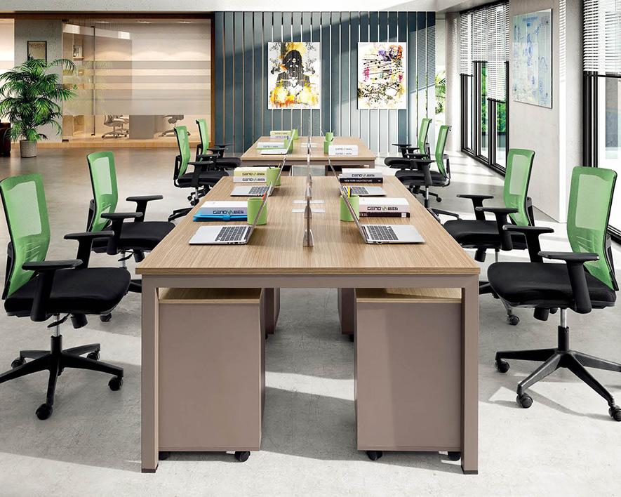 开放式职员办工桌HZZYZ-015