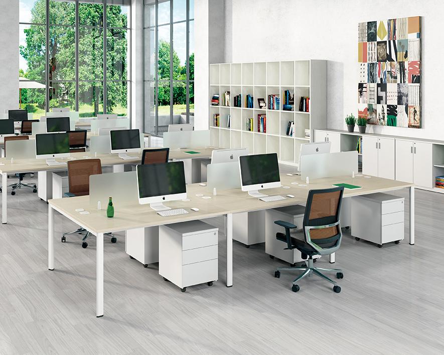 开放式职员办工桌HZZYZ-005