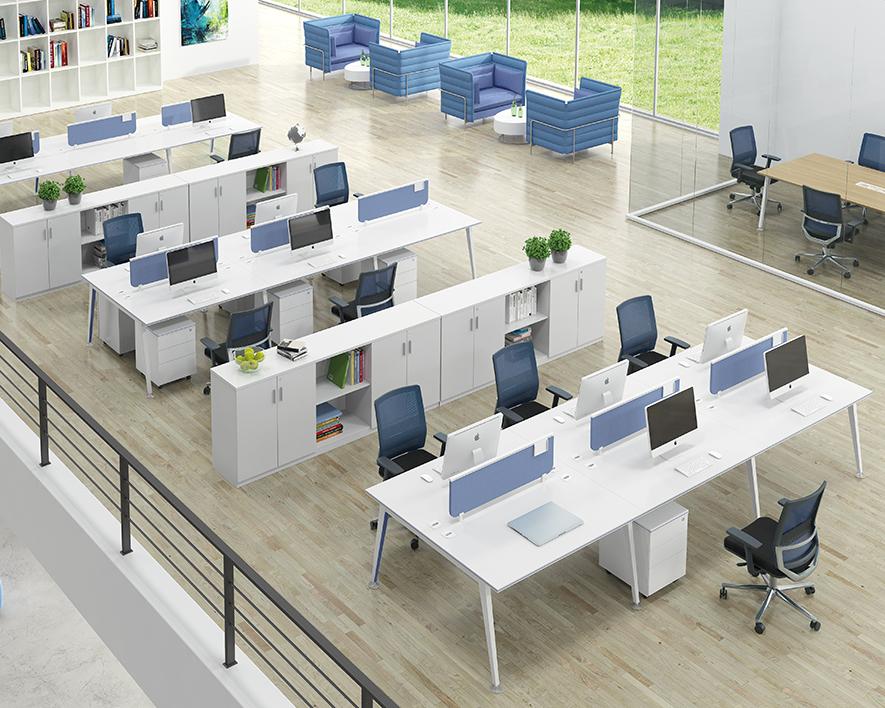 开放式职员办工桌HZZYZ-003
