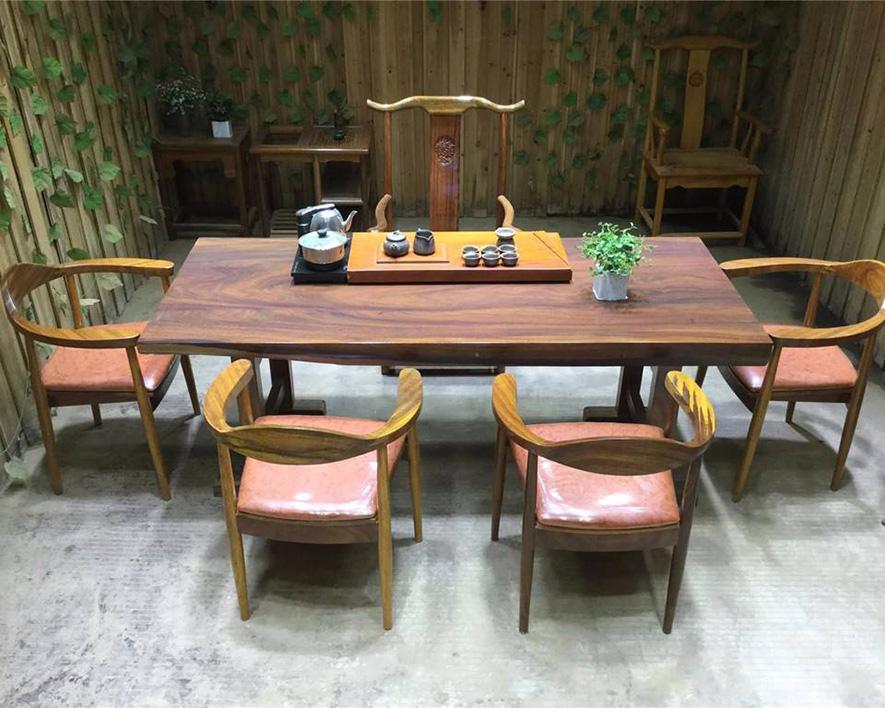 实木茶桌HZCZ-006