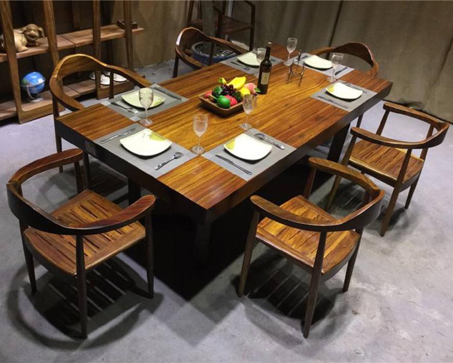 实木茶桌HZCZ-004