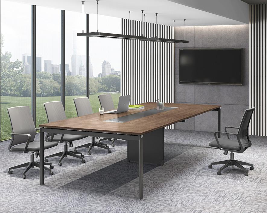 钢木会议桌HZHYZ-GM003