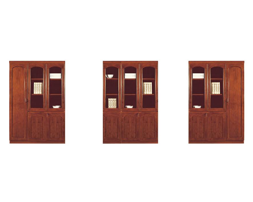实木书柜HZSMSG-012