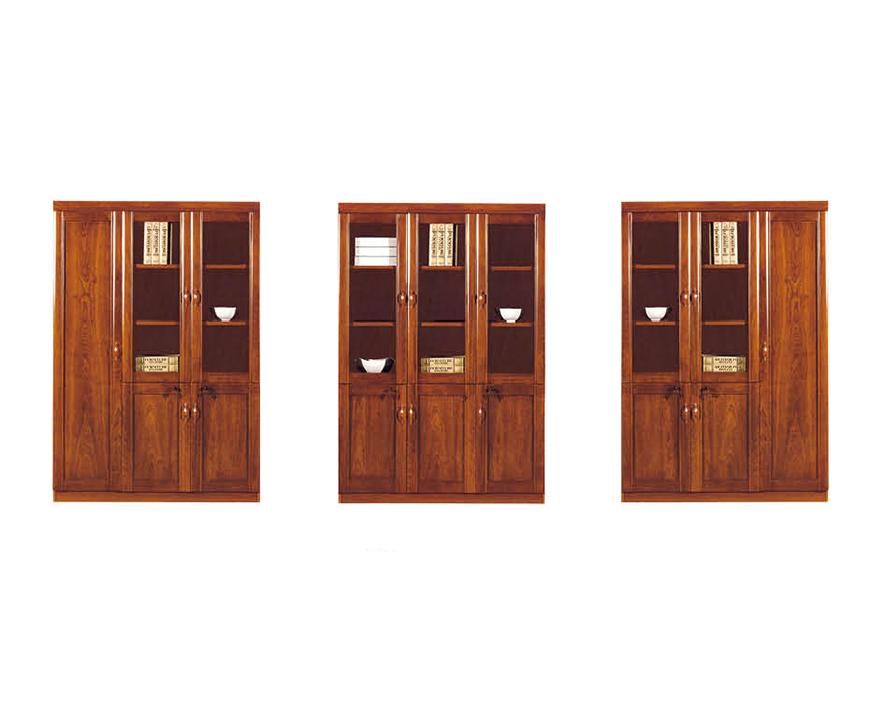 实木书柜HZSMSG-011