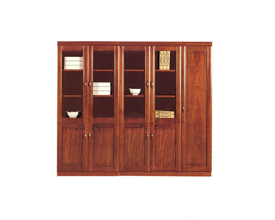 实木书柜HZSMSG-010