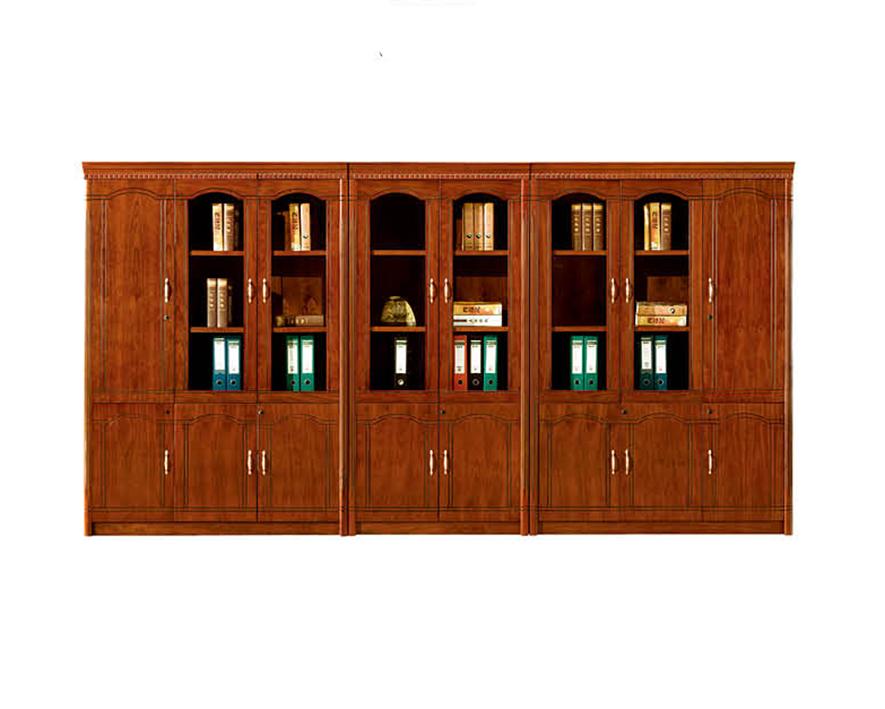 实木书柜HZSMSG-007