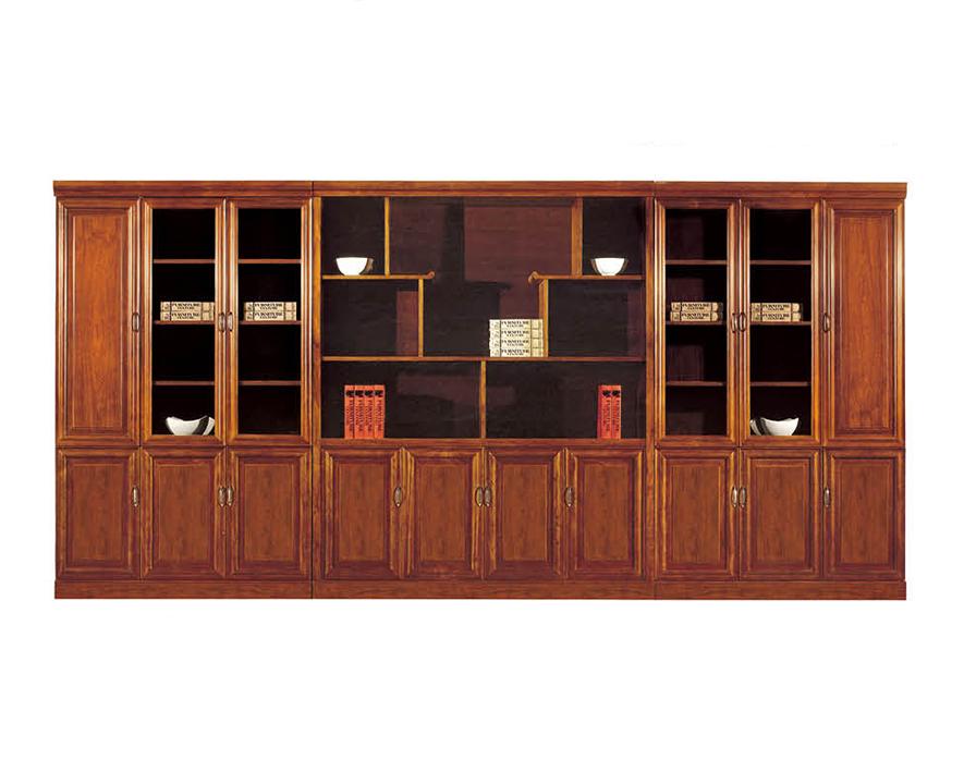 实木书柜HZSMSG-005