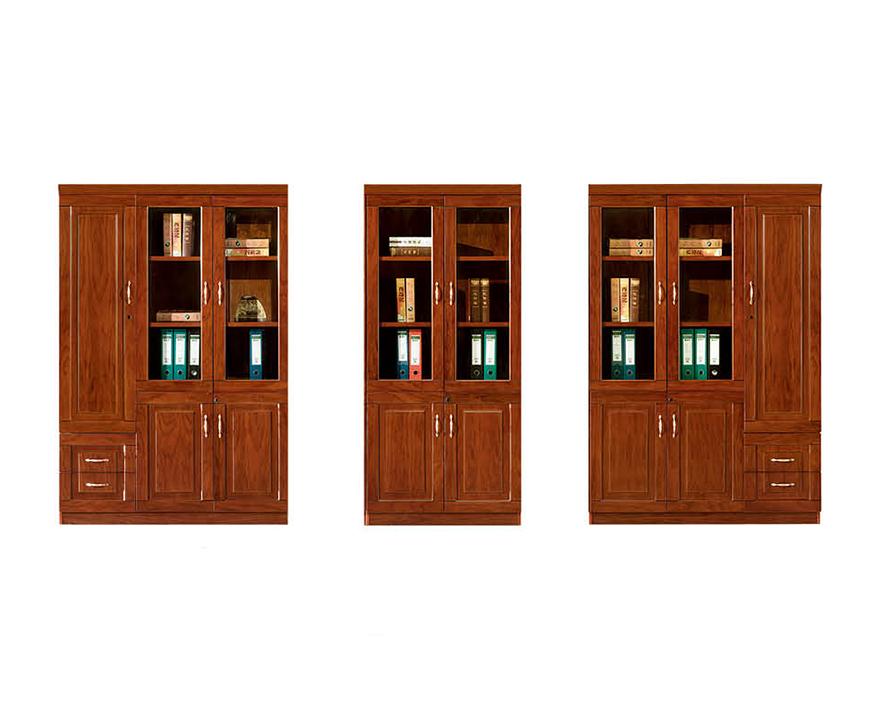 实木书柜HZSMSG-003